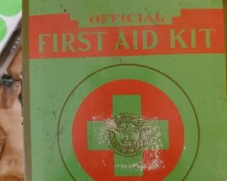 Boy Scouts of America First Aid Kit.  No Comments please.