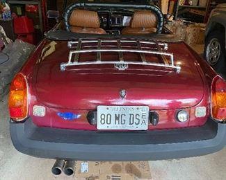 MG convertible