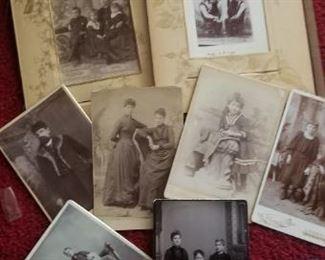 a few antique photographs