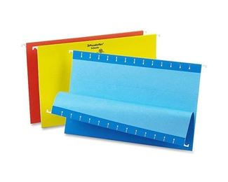 Pendaflex 81632 Recycled Colored Hanging File Folders, Legal, 1/5 Cut, Assorted Colors, 25/box
