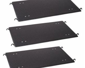 ProSelect, Deluxe, Cat Cage Platform Set, Black, 23-in (Count of 3)
