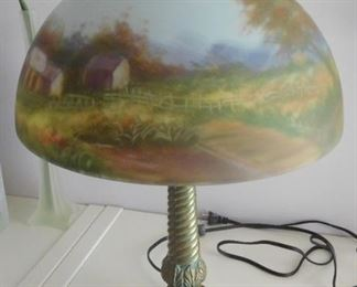Beautiful Stain Glass Lamp