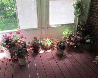 Assortment of Artificial Plants