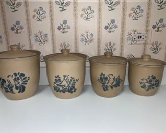 Crockery set...includes dishes, cups, etc.