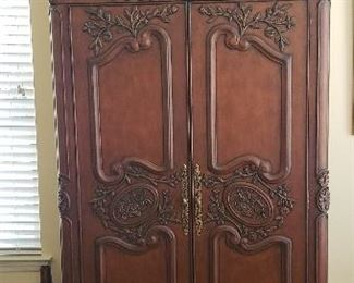 Ornate Armoire or Tv Cabinet