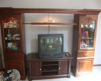 Lighted shelves/cabinets