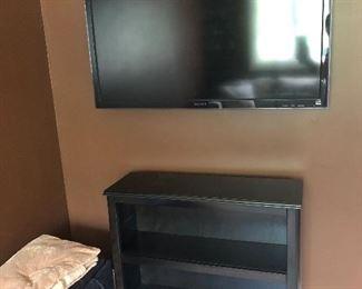 """Sony Bravia Table 45"""" & Low shelf unit"""