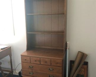 Dresser with Bookcase
