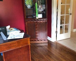 Glass Doored Book Case'