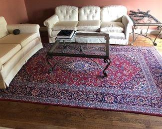 """Persian Carpet Approximate size 6'5 x 8'6"""" Sarouk"""