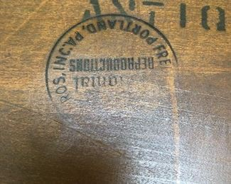Windsor Chair Label