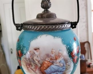 German Biscuit Jar