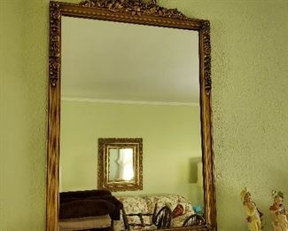 Multiple mirrors in home.
