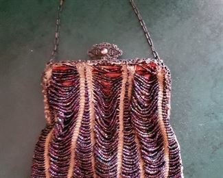 Another beaded purse