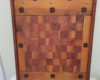 Neat vintage checker board