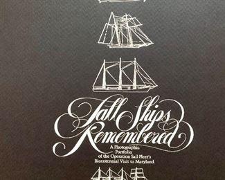several unframed nautical prints