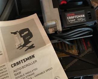 Craftsman scroller saw