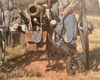 """"""" Washington Artillery of New Orleans""""  by Don Troiani (unframed)"""