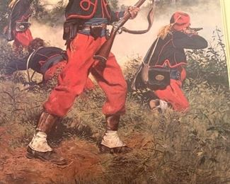 """114th Pennsylvania Volunteer's 1863"" by Don Troiani (unframed)"