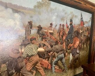 Civil War giclee by Bradley Schmehl