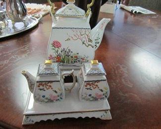 Franklin Mint reproduction tea set