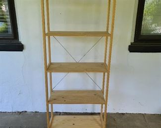 "shelving unit...67"" high x 27"" wide x 12"" deep"