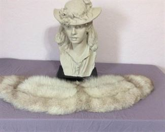 002 Elegant Lady with Fur Stole