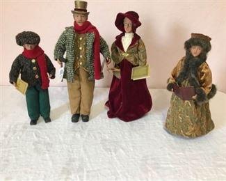 Barton  Barton Carolers Figurines