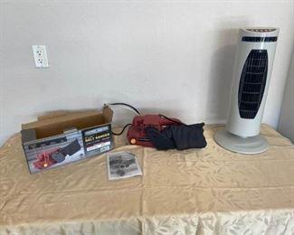 Belt Sander and Portable Heater