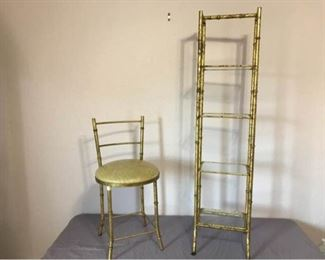 Etagere and Chair
