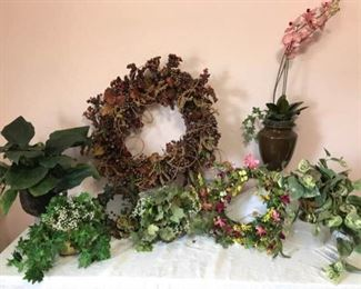 Floral Arrangements and Wreaths