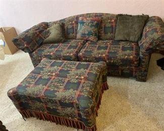 Hunting Themed Sofa