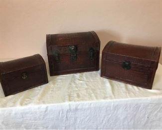 Nesting Treasure Boxes