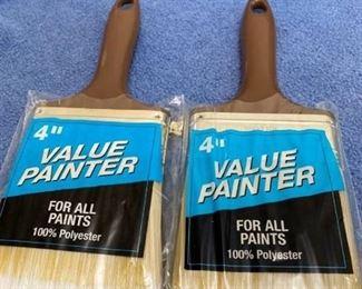 "2 4"" paint brushes"