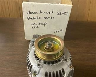 alternator Honda Accord 85-89, prelude 85-87 64 amp 12 v