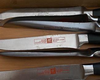Zwilling Henkels steak knife set.