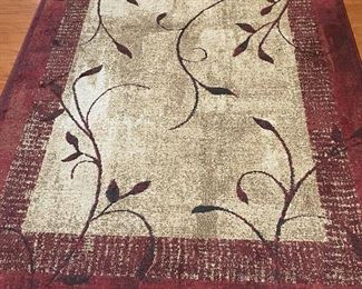 Several rugs in this pattern and in various sizes