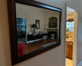 mirror with beveled edges