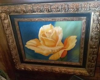 Yellow rose oil $50