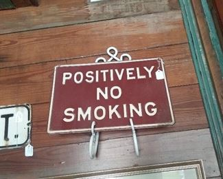 Positively no smoking $100