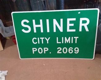 Shiner city limit $80