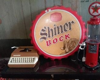 Shiner bottle cap $75