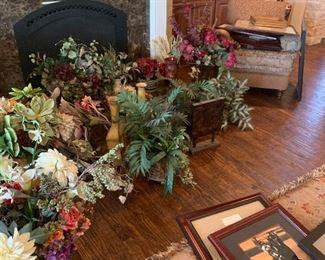 Huge selection of florals
