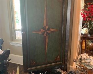 Kitchen breakfast area furniture  Painted chest