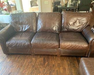 Stickley leather furniture
