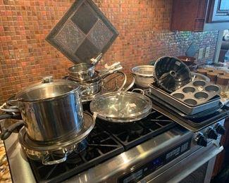 Calphalon pots and pans