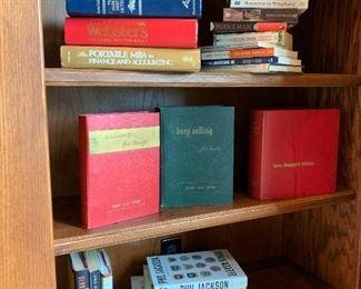 Vintage selling books, office books