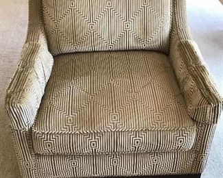 Pierson Sheared Courdory Arm Chairs