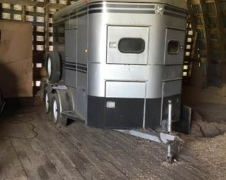 Super Bee Two Horse Trailer