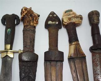 Rare Tlingit Indian knives